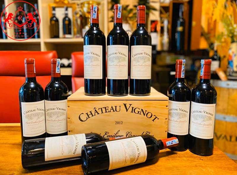 Ruou Vang Chateau Vignot 3