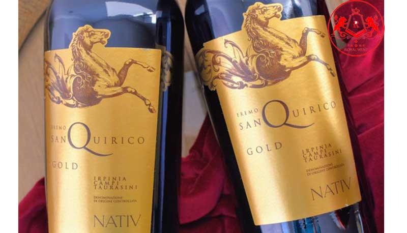 Ruou Vang Eremo San Quirico Gold 5