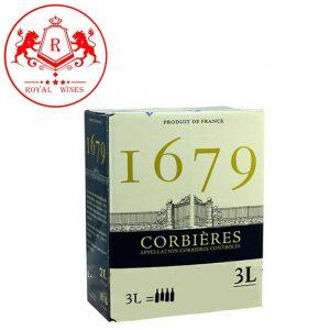 Vang Bich 1679 Corbieres 3 Lit