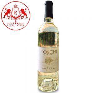 Ruou Vang Toschi Vineyards Sauvignon Blanc