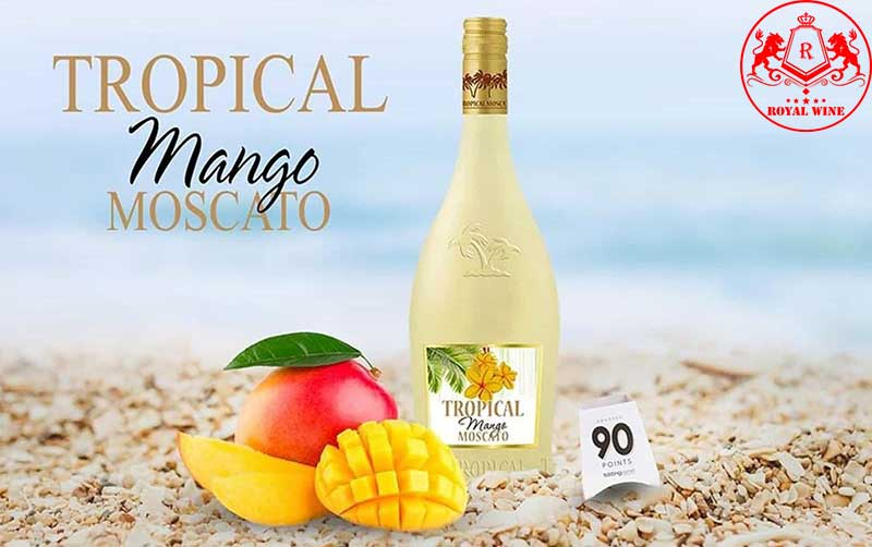 Ruou Vang Tropical Mango Moscato 1
