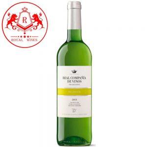 Ruou Vang Real Compania De Vinos Blanco