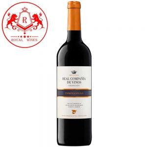 Ruou Vang Real Compania De Vinos Tempranillo