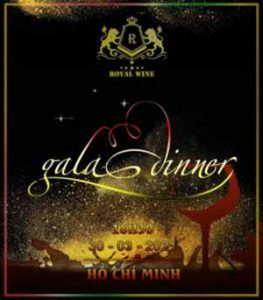 Gala Dinner Royalwine