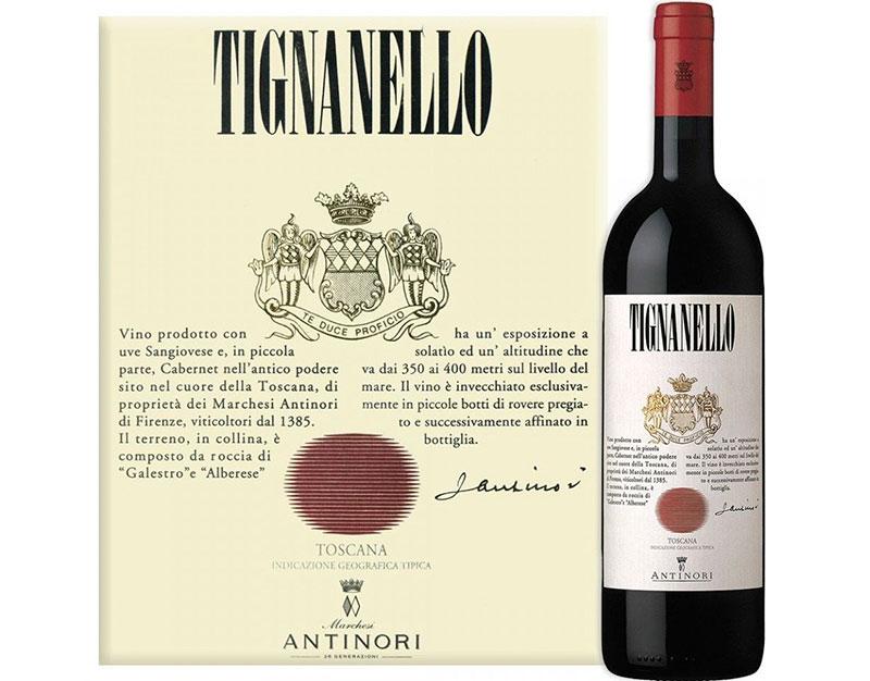 Ruou Vang Antinori Tignanello Igt Toscana
