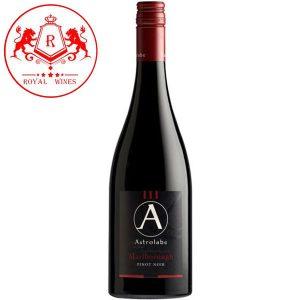 Ruou Vang Astrolabe Province Marlborough Pinot Noir