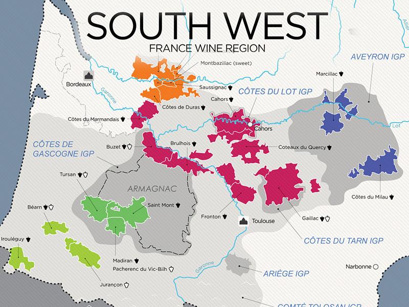 Southwest France Wine