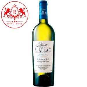 Ruou Vang Chateau De Callac Prestige Blanc
