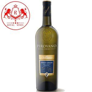 Ruou Vang Pirovano Pinot Grigio