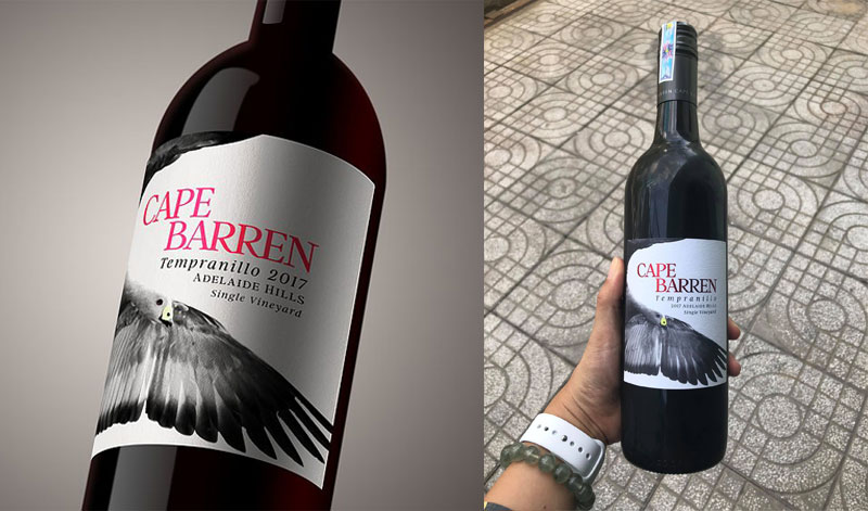 Ruou Vang Cape Barren Single Vineyard Tempranillo1