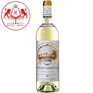 Ruou Vang Chateau Carbonnieux White Pessac Leognan