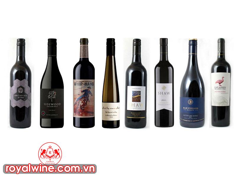 Cách Đọc Nhãn Chai Rượu Vang Đỏ Úc Hiện Nay