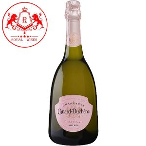 Ruou Champagne Canard Duchene Charles Vii Rose