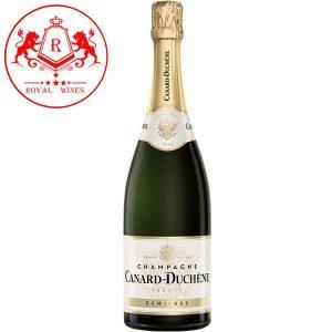 Ruou Champagne Canard Duchene Demi Sec