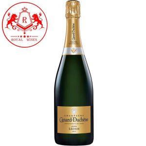 Ruou Champagne Canard Duchene Leonie Cuvee Brut