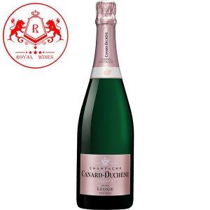 Ruou Champagne Canard Duchene Leonie Cuvee Rose