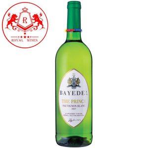 Ruou Vang Bayede The Prince Sauvignon Blanc