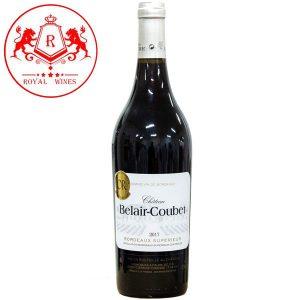 Ruou Vang Belair Coubet Bordeaux Superior