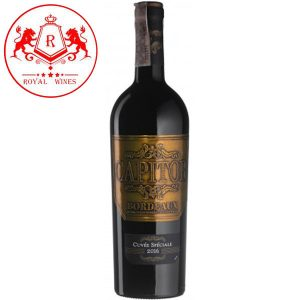 Ruou Vang Capitor Cuvee Speciale Bordeaux