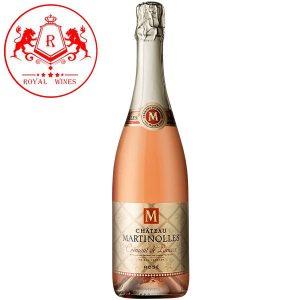 Ruou Vang Chateau Martinolles Cremant De Limoux Rose