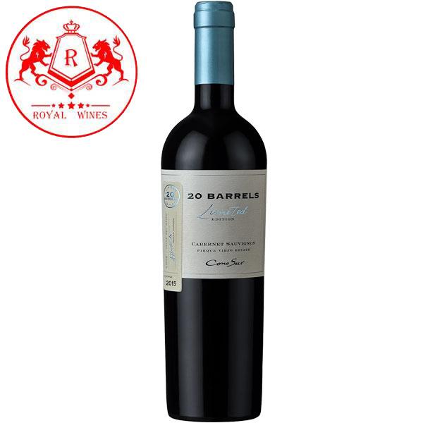 Rượu Vang Cono Sur 20 Barrels Cabernet Sauvignon