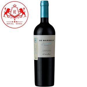 Rượu Vang Cono Sur 20 Barrels Carmenere