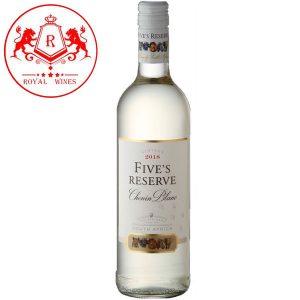 Ruou Vang Fives Reserve Chenin Blanc