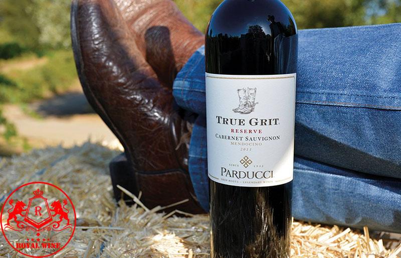 Vang đỏ Mỹ True Grit Reserve Cabernet Sauvignon Parducci