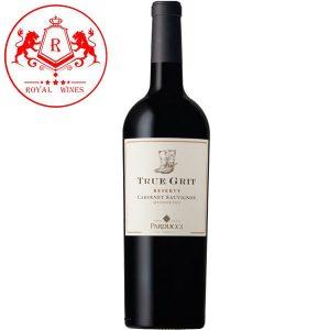 Rượu Vang True Grit Reserve Cabernet Sauvignon