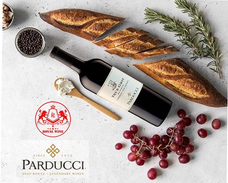 Thưởng thức Rượu vang True Grit Reserve Cabernet Sauvignon Parducci