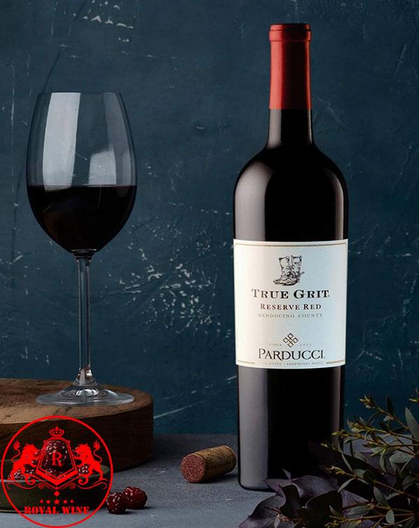 Rượu Vang True Grit Reserve Red