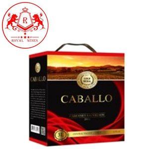 Vang Bich Caballo Cabernet Sauvignon 3l