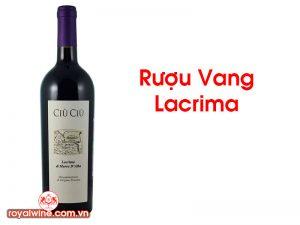 Rượu Vang Lacrima